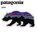 パタゴニア patagonia (パタゴニア) Fitz Roy Bear Sticker 92067 ステッカー シール