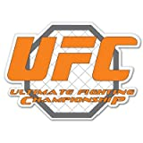 UFC Fighting Vynil車ステッカー5