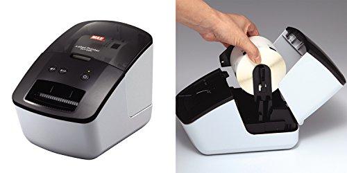 マックス ラベル 上質感熱紙 ダイカットラベル ラベルプリンタ用 ELP-L6242N-16