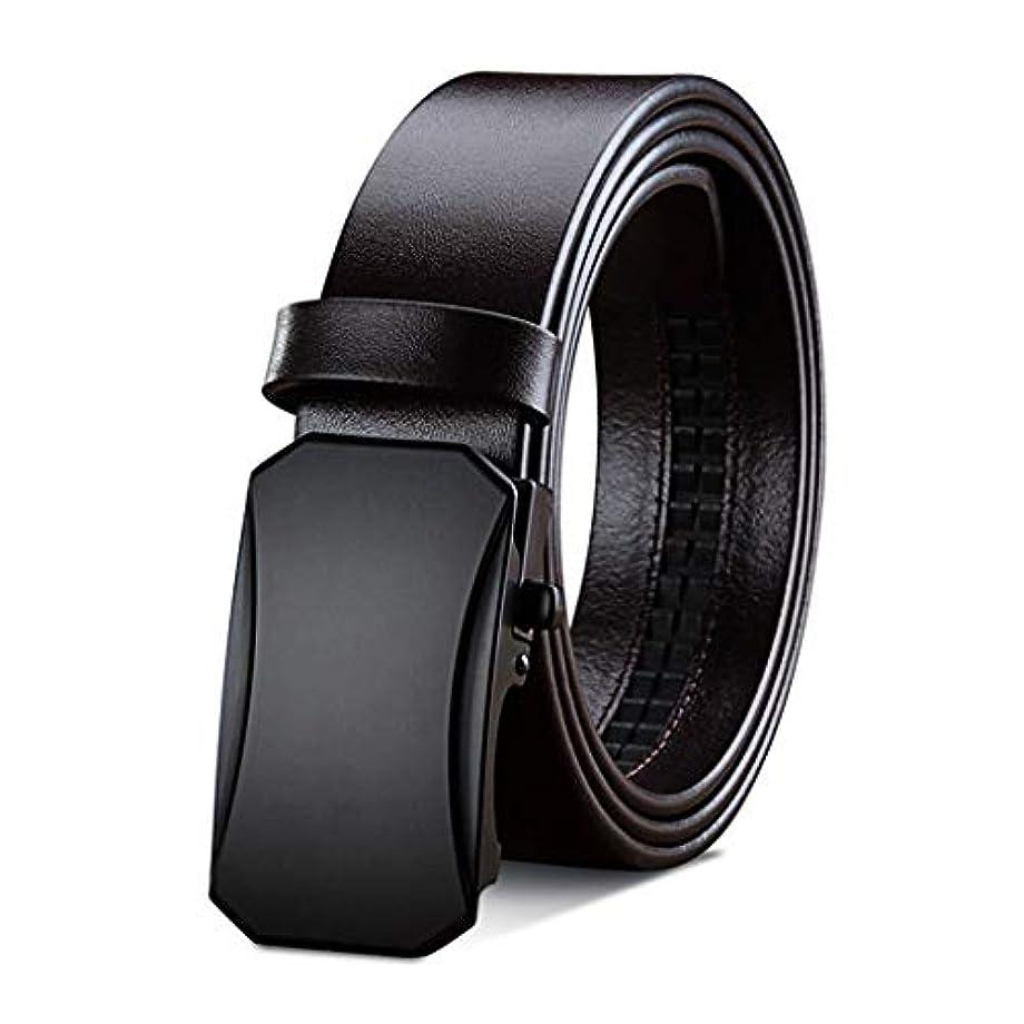 醜い高齢者獣メンズベルト、ラチェットベルトバックルベルト人格カジュアルファッション2色オプション、任意のウエストサイズ105-130 CMに最適、最高の贈り物 (Color : Brown, Size : 130cm)