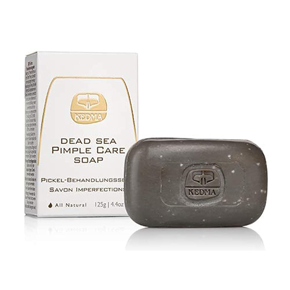 超える計算するインテリア【日本初上陸/正規代理店】KEDMA死海のミネラル石鹸 死海ピンプルケアソープ 125g