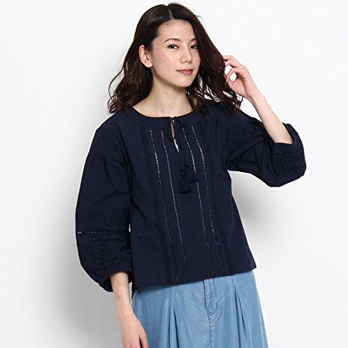 (クチュールブローチ) Couture Brooch 【WEB限定・80%OFF】ペザント刺しゅうシャツ 50882907 38(M) ブルー系(095)