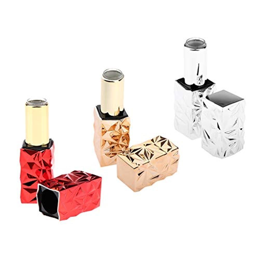 ストレージコントラストホイールSM SunniMix 口紅 容器 手作り 口紅チューブ 詰め替え式 リップクリームコンテナ プラスチック製 3個セット