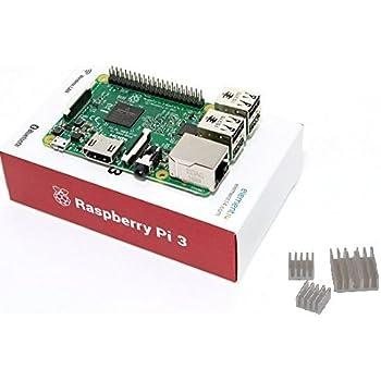 Raspberry Pi 3 Model B(element14製)※ヒートシンク付き!