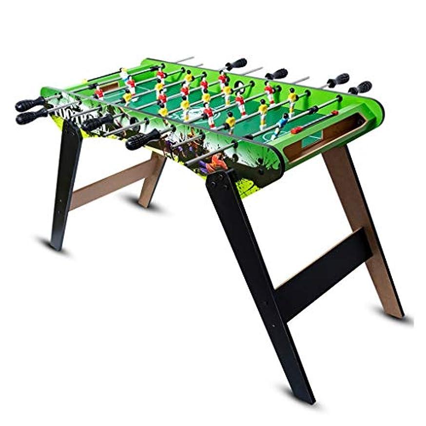 瀬戸際クラフト穴子供のおもちゃ子供のテーブルサッカー子供の教育玩具3-10歳の子供のおもちゃギフトギフト8席テーブルサッカー機家族のゲーム機木材 (Color : BLACK, Size : 88*40*60CM)