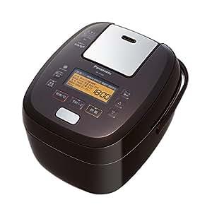 パナソニック 5.5合 炊飯器 圧力IH式 おどり炊き ブラウン SR-PA108-T