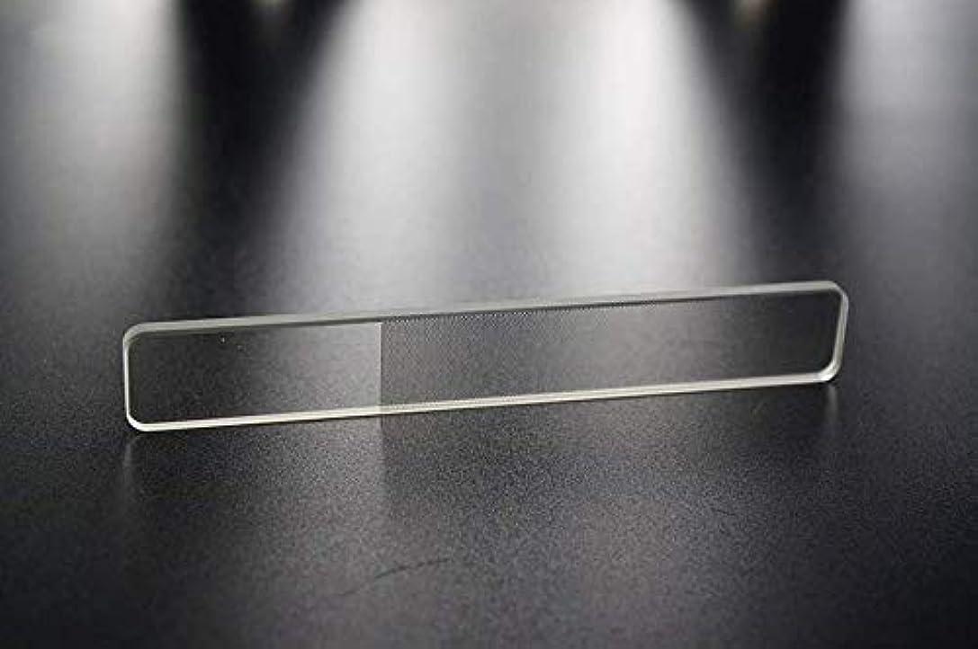 避難する餌飢爪やすり 爪磨き ガラス製 ネイルシャイナ つめみがき ネイルケア ナノ技術が生んだ全く新しい つめやすり (爪)