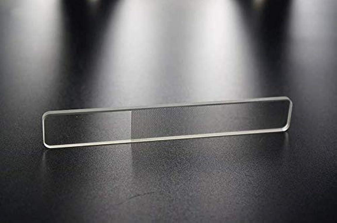 スマイル延期するメリー爪やすり 爪磨き ガラス製 ネイルシャイナ つめみがき ネイルケア ナノ技術が生んだ全く新しい つめやすり (爪)