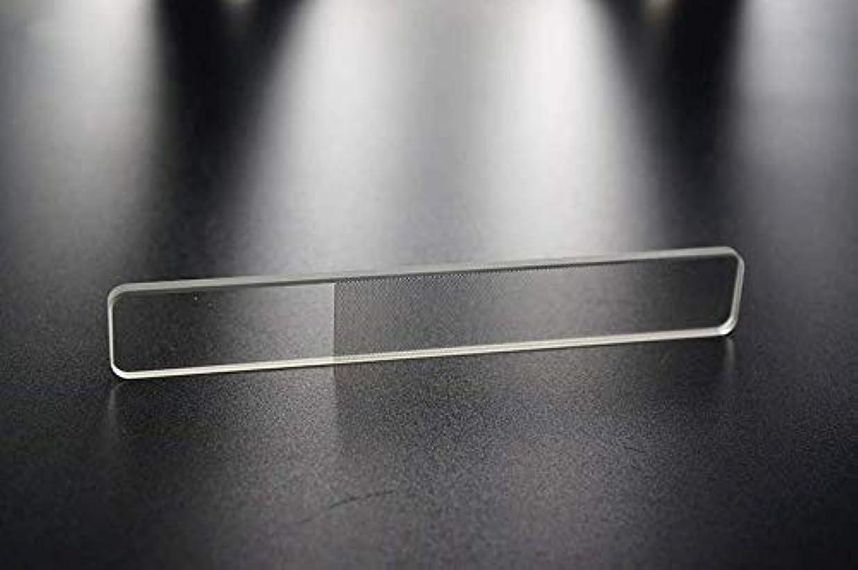 候補者なめる読む爪やすり 爪磨き ガラス製 ネイルシャイナ つめみがき ネイルケア ナノ技術が生んだ全く新しい つめやすり (爪)
