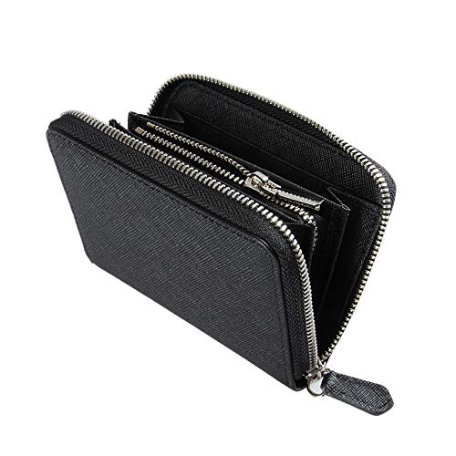 b6f037efc5f8 [ JAYMOD ] 財布 本革 コインケース 小銭入れ メンズ ラウンドファスナー レディース (ブラック