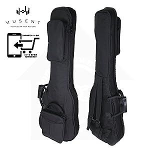 クッション ネック ホルダー 付き エレキ ベース用 ギグバッグ クッション 20mm厚 ギグ ケース ソフト バッグ HGM by MUSENT HGMB100