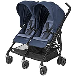 MAXI COSI Dana for 2 Newborn Double Stroller, Nomad Blue