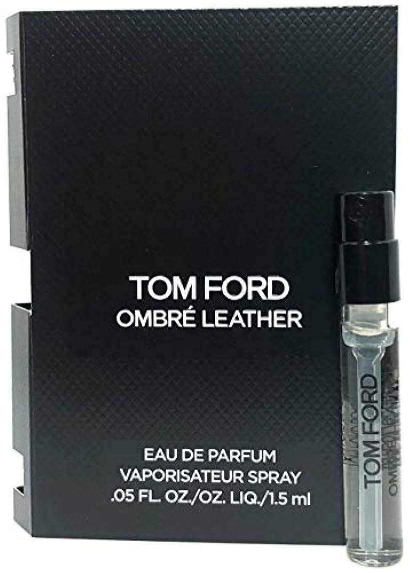 酸化する安定完全に乾くTom Ford Ombre Leather (トムフォード オンブレ レザー) 1.5ml EDP Spray サンプルサイズ【並行輸入品】