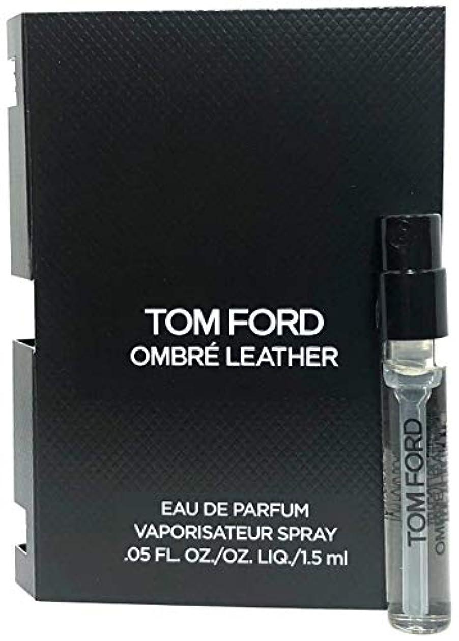 磨かれた現代の宴会Tom Ford Ombre Leather (トムフォード オンブレ レザー) 1.5ml EDP Spray サンプルサイズ【並行輸入品】