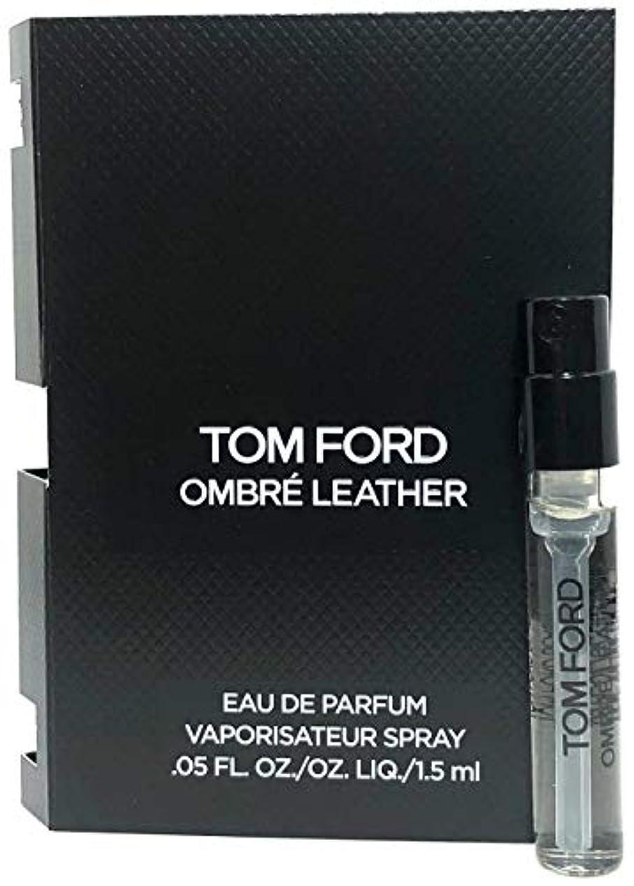 制裁幼児煙突Tom Ford Ombre Leather (トムフォード オンブレ レザー) 1.5ml EDP Spray サンプルサイズ【並行輸入品】