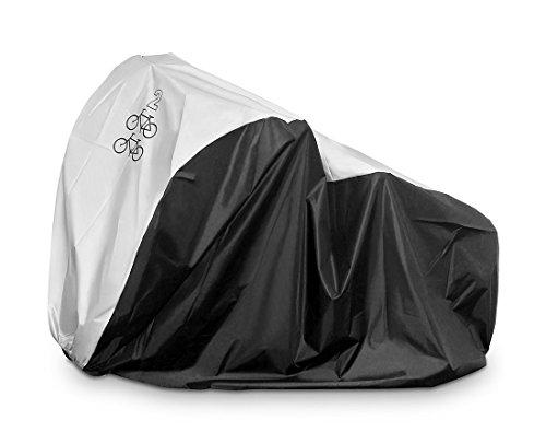 Werocker 自転車カバー サイクルカバー 防水 UVカット 厚手 ロードバイクや電動自転車にも 29インチまで対応 風飛び防止 雨雪対策 収納袋付き