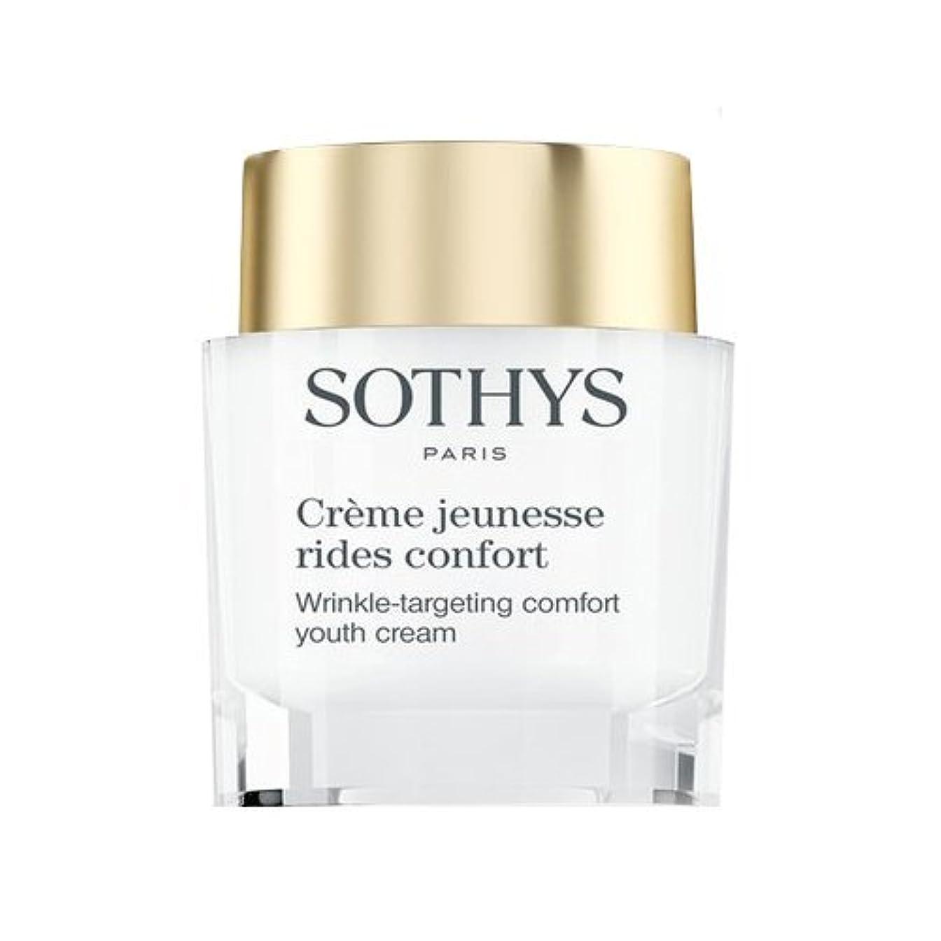 姓愛撫ハンカチSothys Wrinkle-Targeting Comfort Youth Cream 50ml/1.69oz並行輸入品