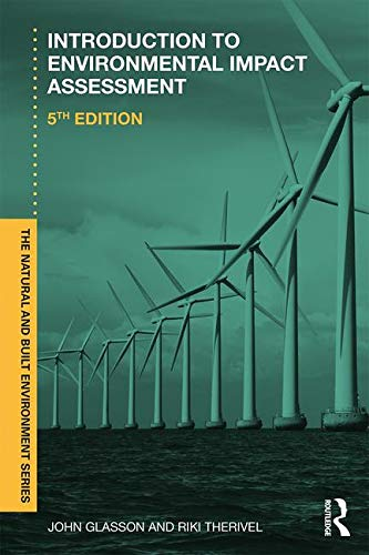 Download Introduction To Environmental Impact Assessment (Natural and Built Environment Series) 113860075X