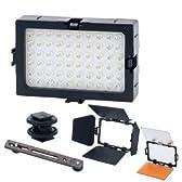 【ライトグラフィカ】コンパクトLED60撮影照明電池式