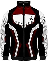 EMILYLE ボーイズ Avengers Endgame アベンジャーズ パーカー かわいい ジャケット コート アメリカ 欧米 Quantum Realm 量子レルム トップス