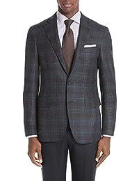 (カナーリ) CANALI メンズ アウター スーツ・ジャケット Classic Fit Plaid Wool Sport Coat [並行輸入品]