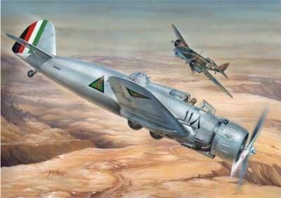 1/48 伊・ブレダ Br.65A-80 複座型攻撃機