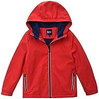 M2C Boys & Girls Hooded Outdoor Fleece Lined Waterproof Jacket
