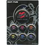 KAT-TUN 缶バッジセット 「Real Face」 2006年 公式グッズ ジャニーズグッズ