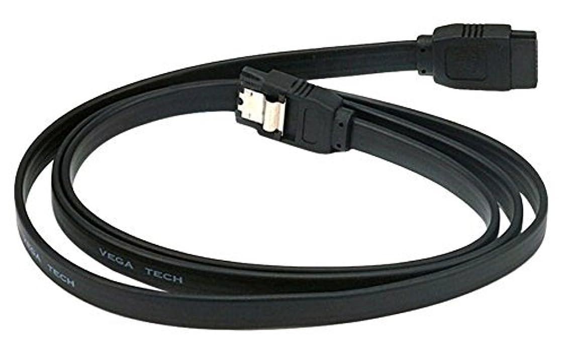 に付ける上級子孫C&E 12 Pack 36 inch SATA 6Gbps Cable w/Locking Latch Black CNE547145 [並行輸入品]