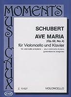 SCHUBERT - Ave Maria Op.52 nコ 6 para Violoncello y Piano (Pejtsik)