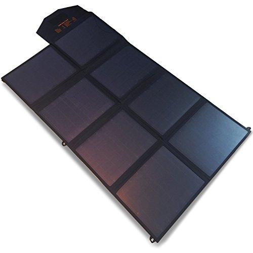 SmartTap 100W ソーラーパネル充電器 PowerArQ Solar 太陽光発電 ソーラーチャージャー 高効率ソーラーパネル8枚搭載 DC8mmポート ( 100W / 35.6V / 2.8A )