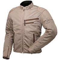 ラフアンドロード(ROUGH&ROAD) バイクジャケット ライディングZIPメッシュジャケット ベージュ M RR73…