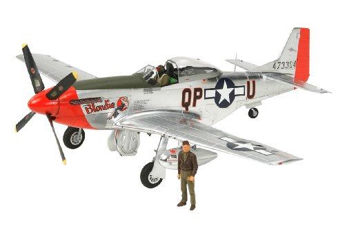スケール限定シリーズ 1/32 ノースアメリカン P-51D マスタング シルバーフィニッシュ 25151