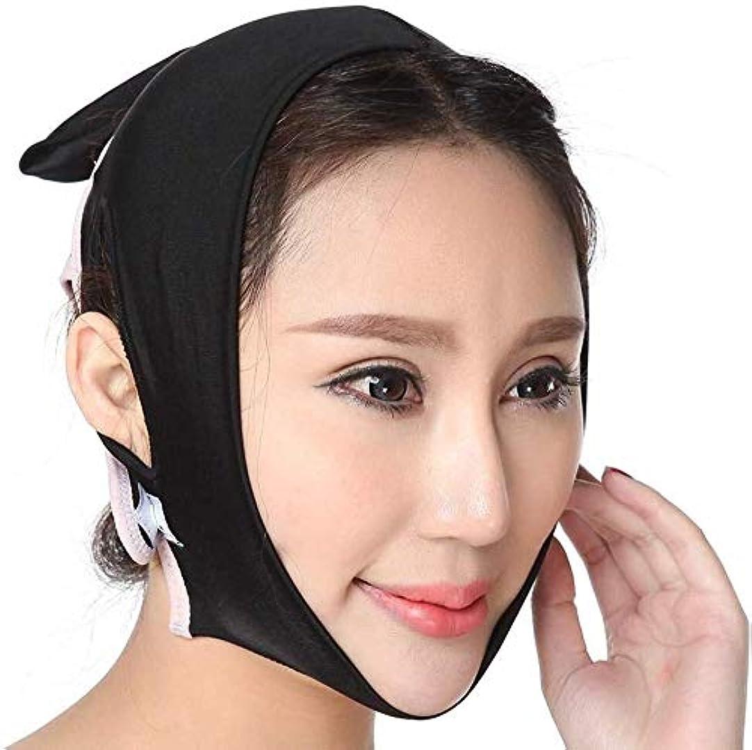 論理マルコポーロリスJN 薄い顔ベルト、フェイスマッサージフェイスダブルチンリデューサーひげ持ち上げ、締め付けを防ぐフェイシャル?ルーピングクロス包帯、4つのサイズ たるみ防止マスク (Size : Xl)