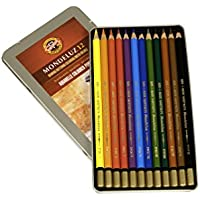 Mondeluz Aquarell Watercolor Pencils 12/Pkg- (並行輸入品)