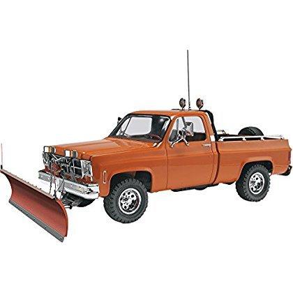 GMC Pickup with Snow Plow Plastic Model Kit