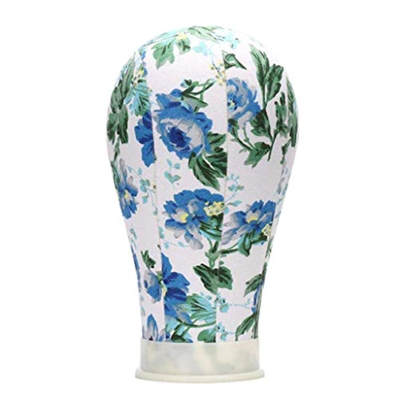 上流の長方形九キャンバス マネキン頭 トルソー 頭 マネキンスタンド マネキンヘッド 帽子 スカーフ ディスプレイ 全4選択 - 22インチ
