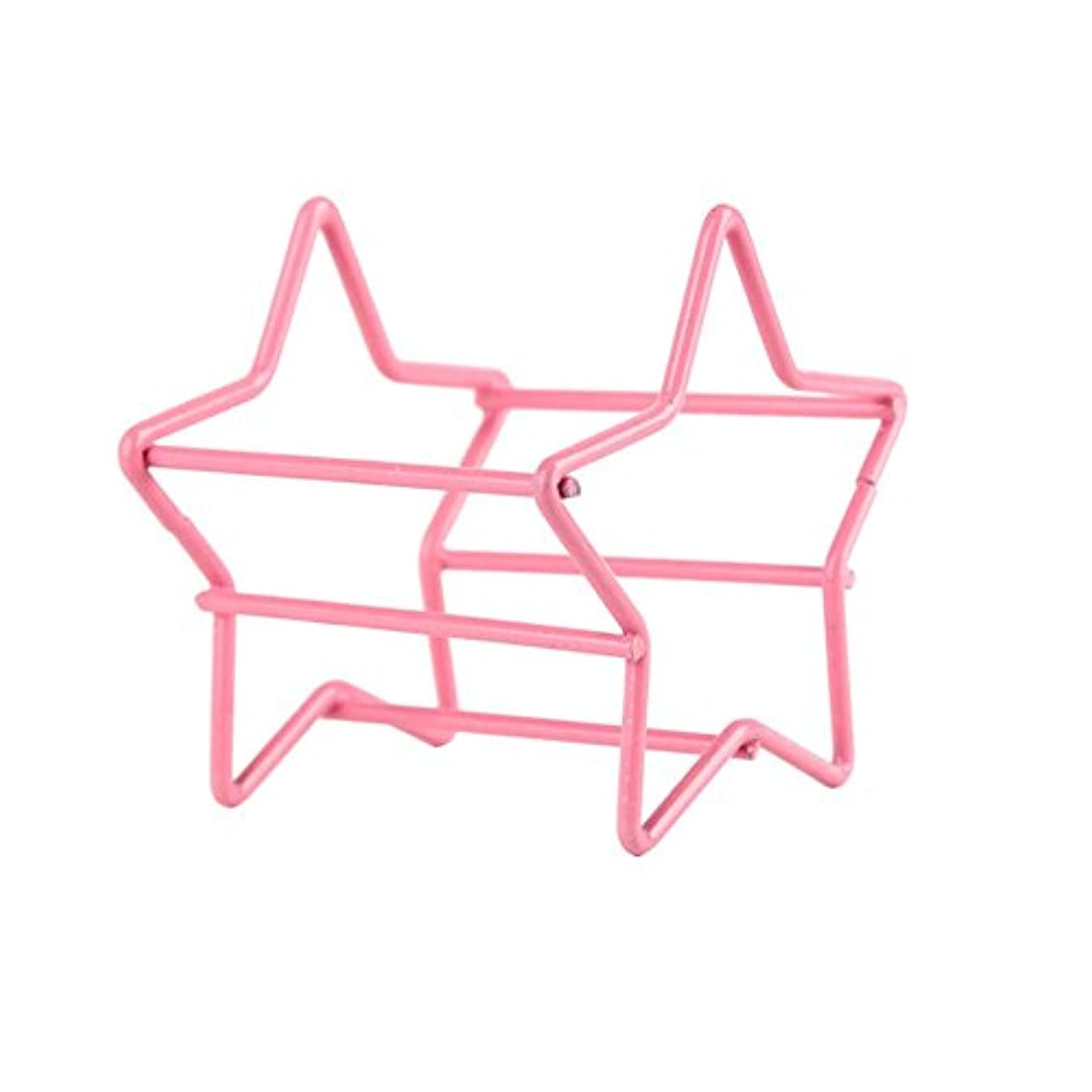 疼痛強大な豚2メイクアップエッグパウダーパフスポンジディスプレイスタンド乾燥ホルダーラックのセット
