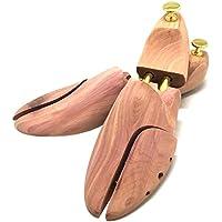 [グロッシーシュ] 木製シューキーパー レッドシダー メンズ シューツリー アロマティック