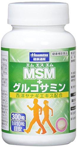 久光製薬 MSM+グルコサミン 300粒
