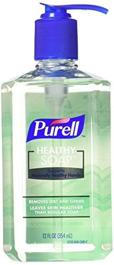 起訴する好戦的な切り下げPurell Health Hand Soap Soothing Cucumber Scent 12.9 Ounce [並行輸入品]