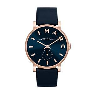 [マーク バイ マーク ジェイコブス] Marc by Marc Jacobs 腕時計 Baker Navy Dial Navy Leather Ladies Watch クォーツ MBM1329 [バンド調節工具&高級セーム革セット]【並行輸入品】