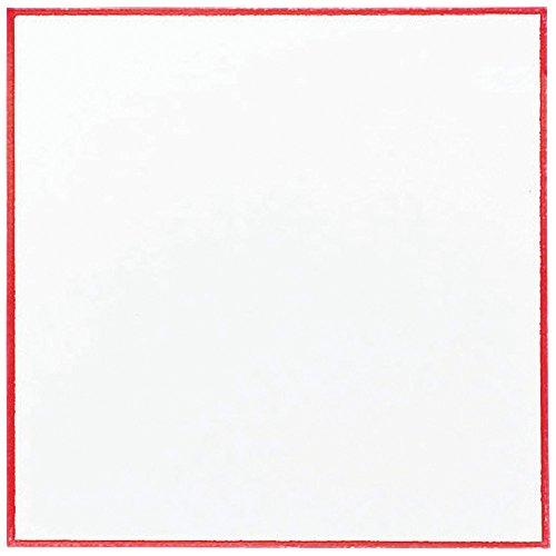 craft) 日本製 耐油天紙 赤枠 4寸 300枚入 54022200