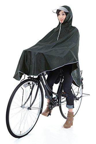 【krosta】グッジョブ!! 自転車用 ロングレインコート...