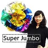 J-STAGE Spring Flowers Mylar, Super Jumbo 24 Inch 春の花マイラー、スーパージャンボ24インチ マジック 手品