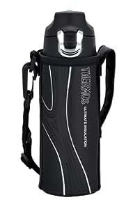 THERMOS 真空断熱スポーツボトル 0.5L ブラック FFF-500F BK