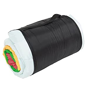 DOPPELGANGER(ドッペルギャンガー) アウトドア 寝袋 くるくるシュラフ 子供用 くるくる巻くだけ 簡単 片付け S1-459K