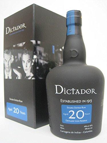 ディクタドール 20年 (コロンビア) 700ml