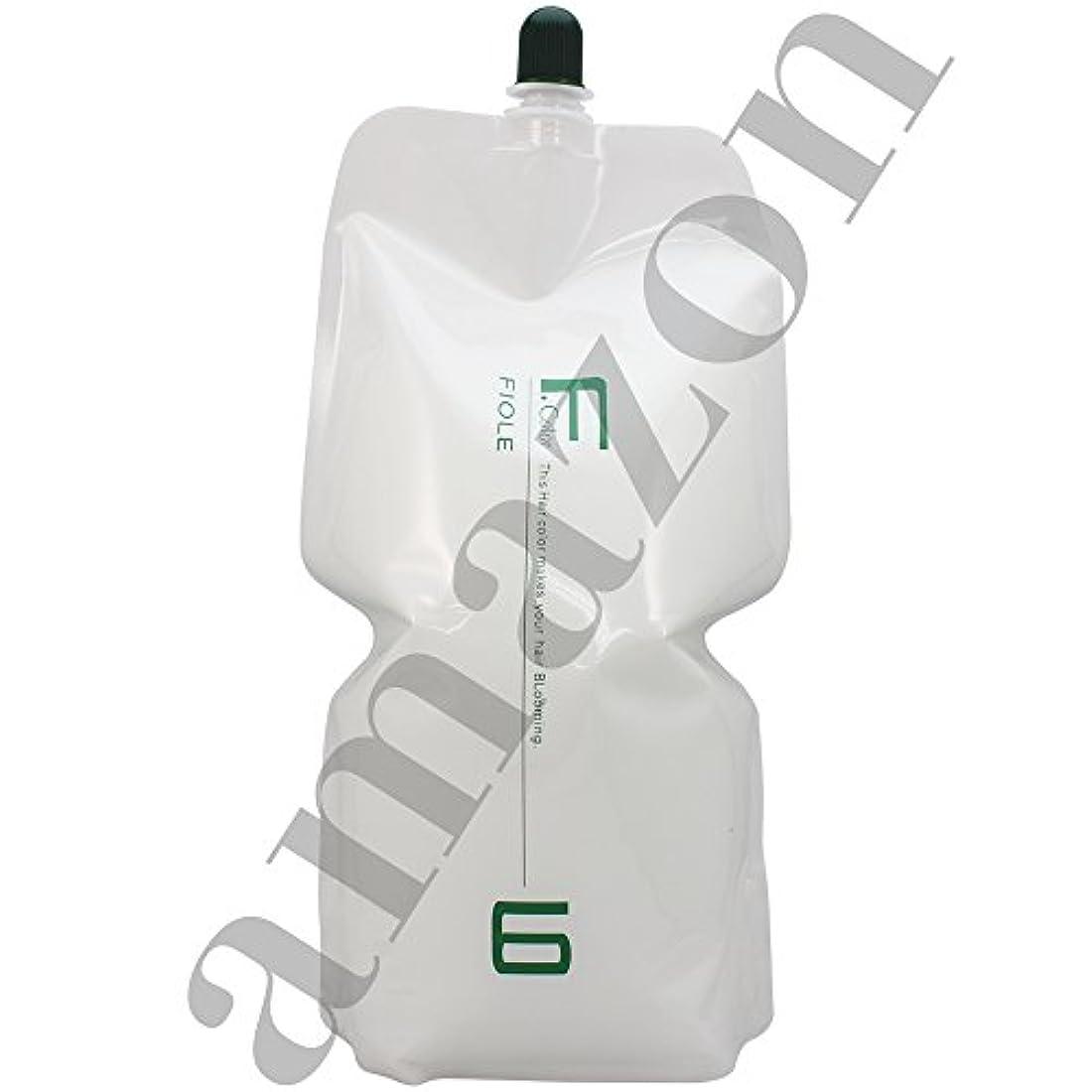 排気ドーム急流フィヨーレ BLカラー OX 2000ml 染毛補助剤 第2剤 パウチ (OX6%)