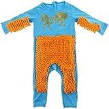 DYNWAVE ワンピース 赤ちゃん ロンパース ベビー モップロンパース 2サイズ選択